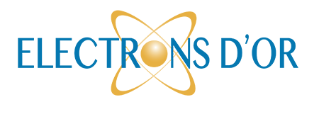 Freemindtronic electrons d'Or 2013 finalist logo electrons d'or 2018 of