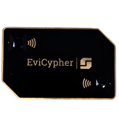 evicypher dual nfc hardware wallet black golden encryption key management password manager by freemindtronic andorra
