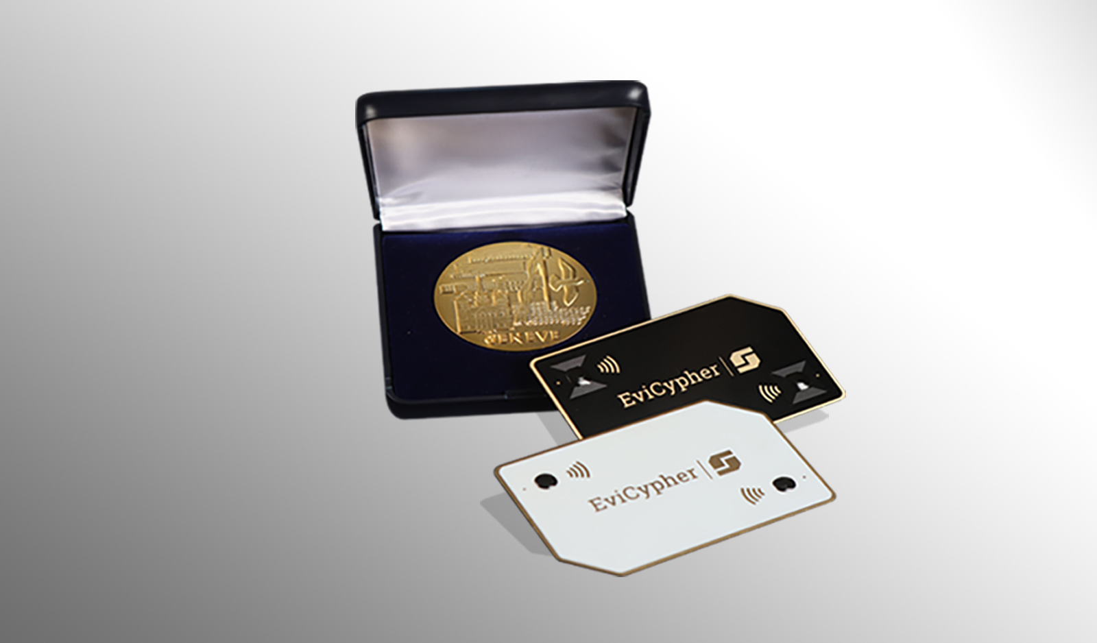 Best invention worldwide 2021, EviCypher NFC Hardware Wallet contactless Secrets Management multi trust criteria Gold Medal 2021 Geneva international inventions by Freemindtronic Andorra