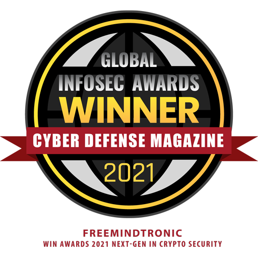 Freemindtronic Win Awards 2021 Next-Gen in Crypto Security with EviCypher & EviToken Technologies