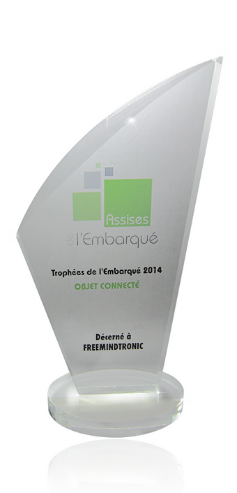 Embedded Trophy 2014 Freemindtronic Award 2014 Bercy Paris France EviKey NFC rugged USB Stick contactless unlock and NFC SSD Sata 3 Technology patented Andorra Copyright