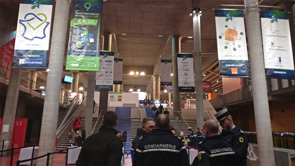 FIC 2017 Cybersecurity Exibition France Lille Grand Palais France Fullsecure by Freemindtronic Andorra