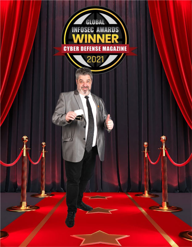 Freemindtronic named winner of the coveted Global Infosec Awards during RSA conference red carpet Cybersecurity Safety Andorra three Awards 2021