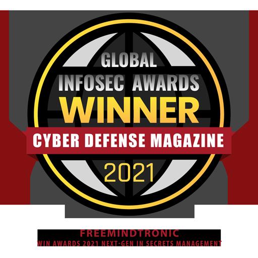 Freemindtronic win awards 2021 Next-Gen in Secrets Management with EviCypher & EviToken Technologies