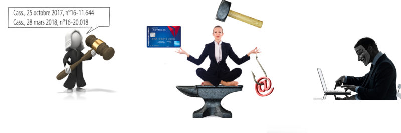 Phishing: Cyber victims caught between the hammer and the anvil