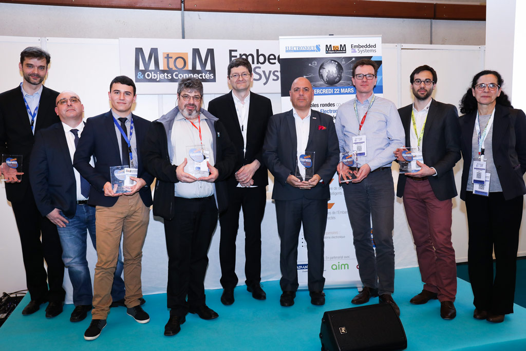 Award 2017 MtoM & Embedded System & IoT Freemindtronic Andorra winner in the category electronic module subsystem picture group winner Jacques Gascuel