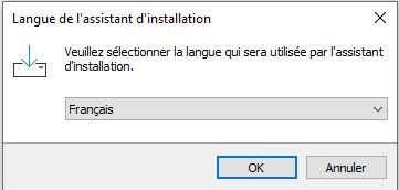 choose the installation language evidns zeroconf by freemindtronic