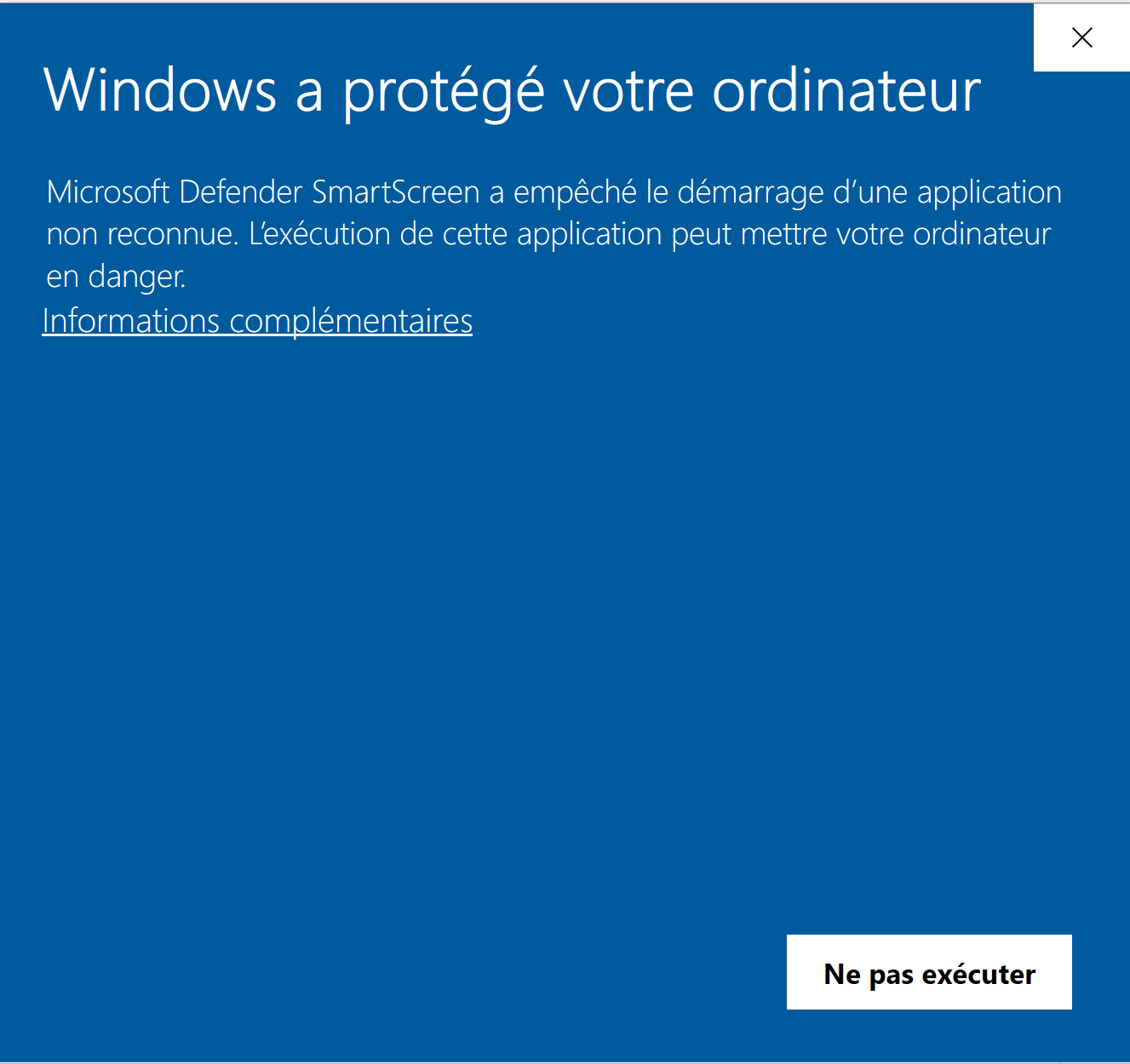 EviDNS Zeroconf signed by Freemindtronic with Comodo it is not recognized by Windows Microsoft defender SmartScreen