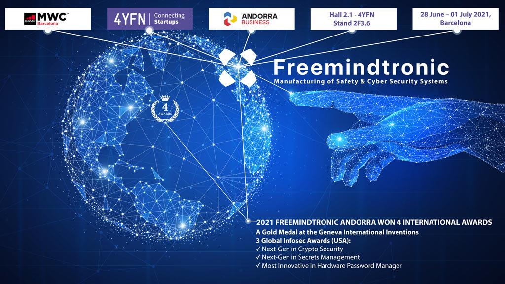 Freemindtronic 4YFN 2021 GSMA andorra business 2021 hall 2 stand 2F3.6