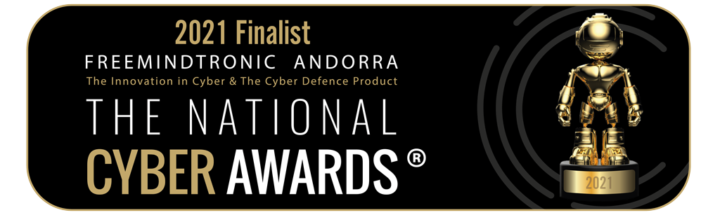 Finalists The National Cyber Awards 2021 Freemindtronic Andorra with EviCypher Technology